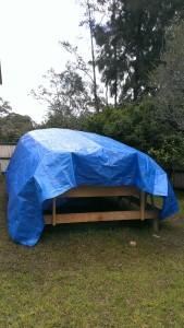It's a yurt
