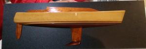 Half model of our Didi 40 Cr built by Bill Bollard