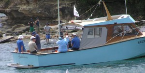 A photo of Bills boat taken at the Laser Worlds at Terrigal in the 07 08 season.