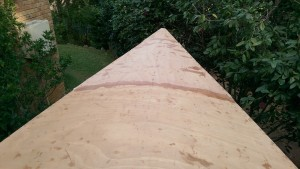 Completed foredeck on our Didi 40 Cr
