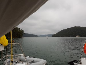 A very quiet Refuge Bay on the weekend before Christmas