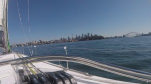 Picture perfect harbour views waiting for wind